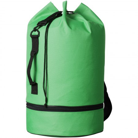 Idaho sailor bag, green, 50 x d: 30 cm