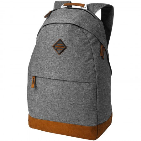 "Echo 15,6"" laptop and tablet backpack, grey, 30 x 14 x 48 cm"
