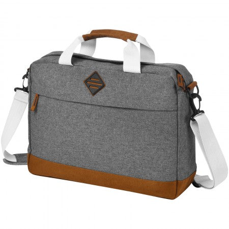 "Echo 15,6"" laptop and tablet conference bag, grey, 40 x 10 x"
