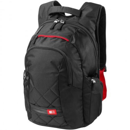 "16"" Laptop backpack, solid black, 40 x 19,5 x 47 cm - BRANIO"
