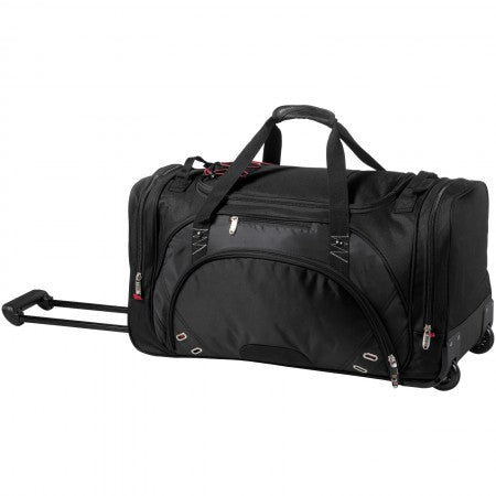 Proton wheeled duffel bag, solid black, 68,0 x 31,1 x 35,0 c