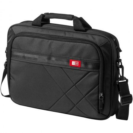 "15.6"" Laptop and Tablet case, solid black, 41,0 x 7,0 x 29,0 - BRANIO"