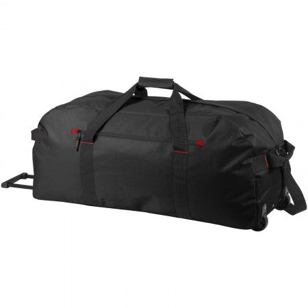 Vancouver trolley travel bag, solid black, 85 x 35 x 34 cm