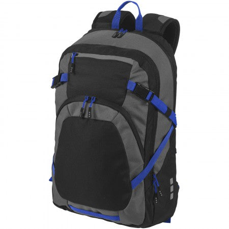 "Milton 14"" laptop backpack, solid black, 28,5 x 16,5 x 46,5"