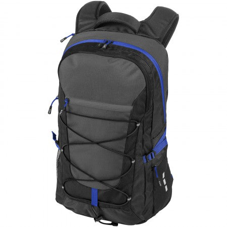 "Milton 15.4"" laptop outdoor backpack, solid black, 30 x 16 x"