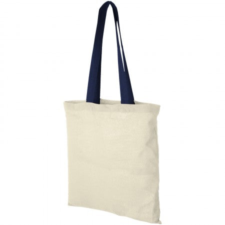 Nevada cotton tote, white, 38 x 42 cm