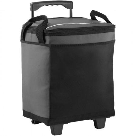 32-Can Rolling Cooler  , grey, 30,4 x 21,6 x 36,8 cm