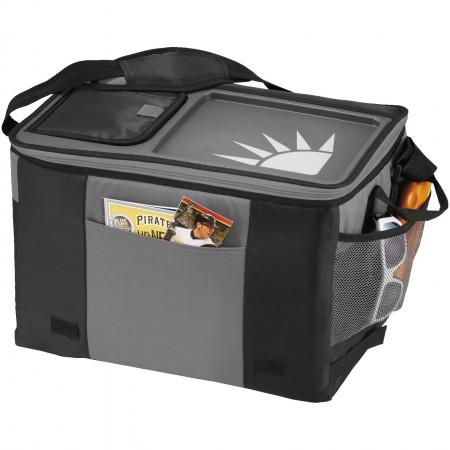 50-Can Table Top Cooler, solid black, 41,9 x 29,2 x 27,9 cm - BRANIO