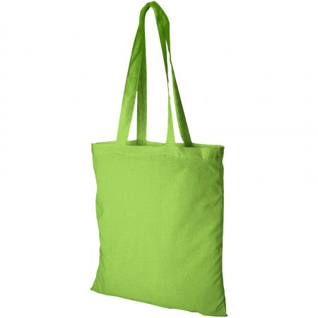 Madras Cotton tote, green, 38 x 42 cm