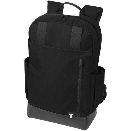 Computer Daily Backpack, solid black, 12,5 x 29 x 48,3 cm