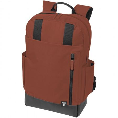 "15.6"" Computer Daily Backpack, red, 12,5 x 29 x 48,3 cm - BRANIO"