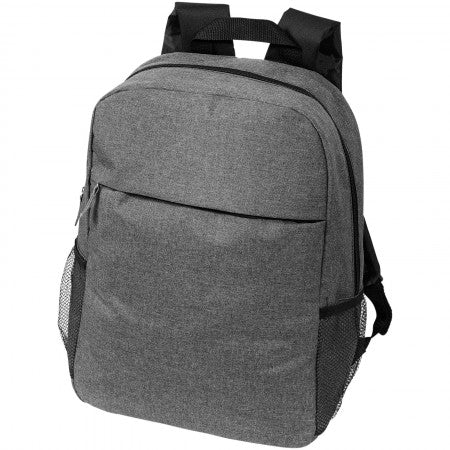 "Heathered 15.6"" Computer Backpack, grey, 30 x 13,5 x 43 cm"