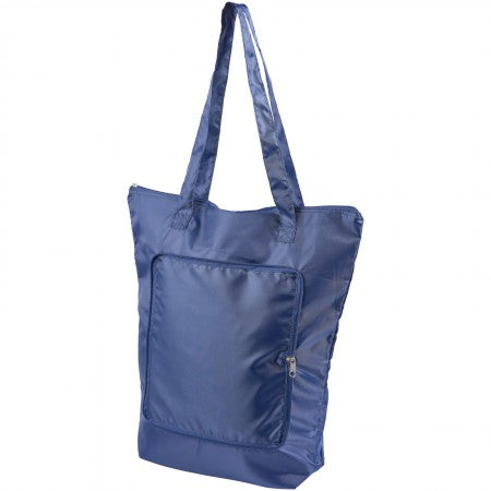 Cool Down foldable cooler tote, blue, 14 x 41 x 44 cm