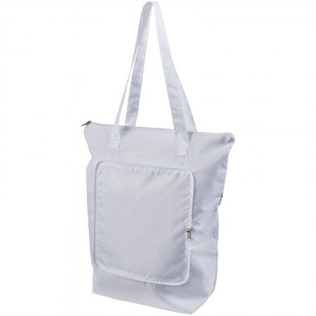 Cool Down foldable cooler tote, white, 14 x 41 x 44 cm