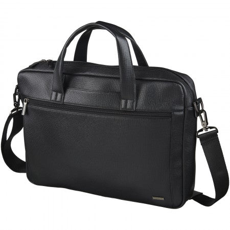 "Sendero 15"" laptop briefcase, black"