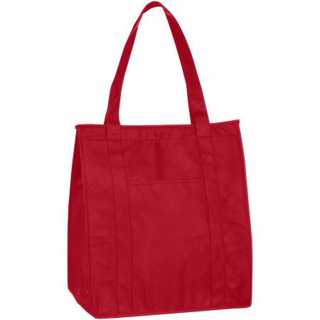Zeus Insulated Grocery Tote, red, 33 x 20 x 38 cm