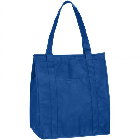Zeus Insulated Grocery Tote, blue, 33 x 21 x 38 cm