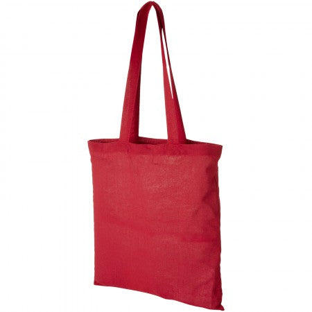 Peru Cotton Tote, red, 38 x 42 cm