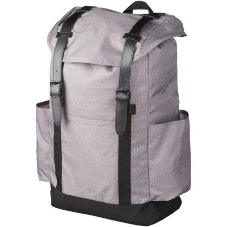 Thomas 16? laptop backpack, grey, 30 x 12 x 45 cm