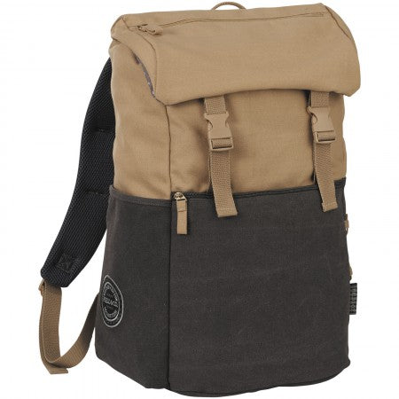 "Venture 15"" Computer Backpack, brown, 30 x 21 x 47 cm"