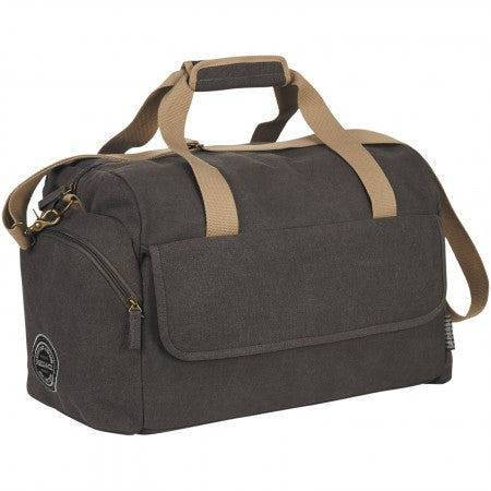 "Venture 16"" Duffel Bag, grey, 40 x 25 x 37 cm"