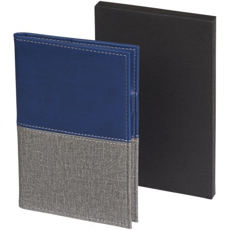Heathered passport cover, Blue