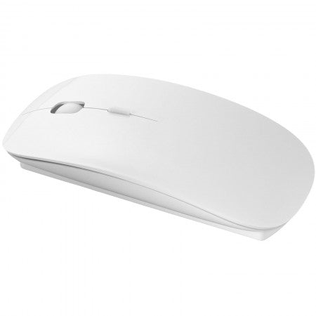 Menlo Mouse Wireless Alb, 11,3 x 5,8 x 2 cm