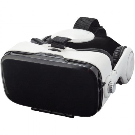 Virtual Reality Headset with Headphones, white, 21 x 21 x 10