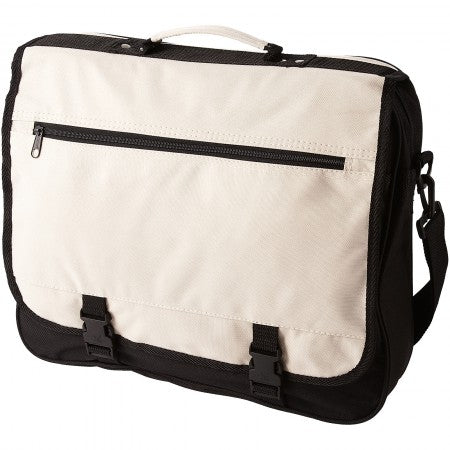 Anchorage conference bag, white, 40 x 10 x 33 cm