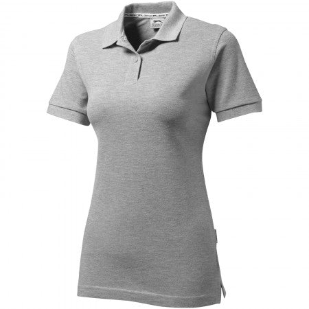 Forehand lds polo Sp grey L