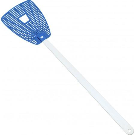 'Give the fly a chance' flyswatter, cobalt blue - BRANIO