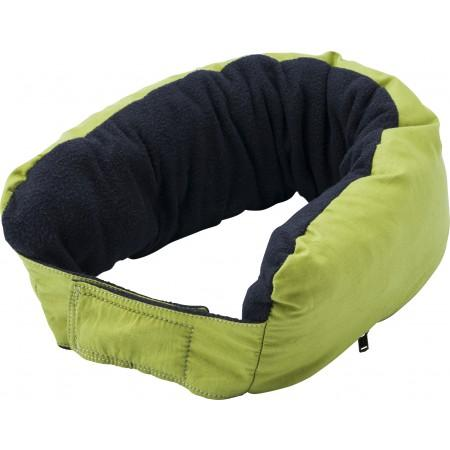 3-in-1 multifunctional zippered neck pillow, light green