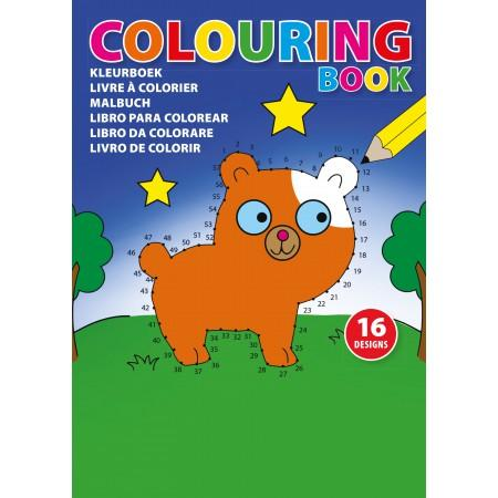 A5 Children's colouring book., custom/multicolor - BRANIO