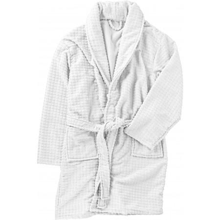 100% Polyester wellness set, white - BRANIO