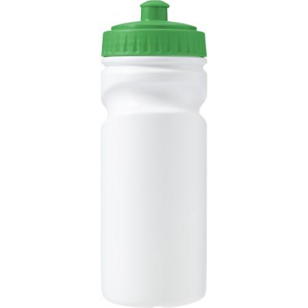 100% recyclable plastic drinking bottle (500ml), green - BRANIO