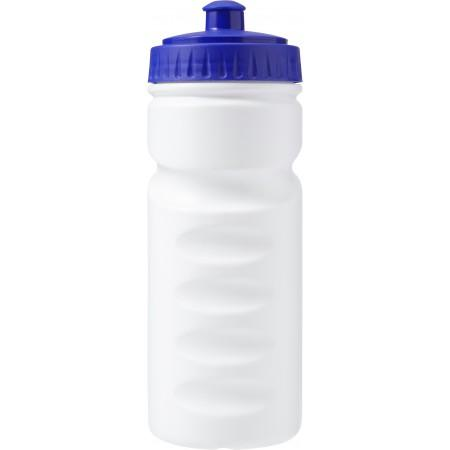 100% recyclable plastic drinking bottle (500ml), blue - BRANIO