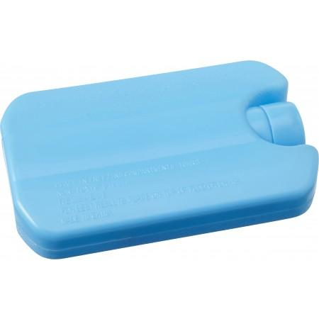 100% recyclable plastic (HDPE) ice pack, light blue