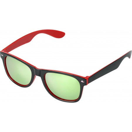Plastic sunglasses with UV400 protection, red
