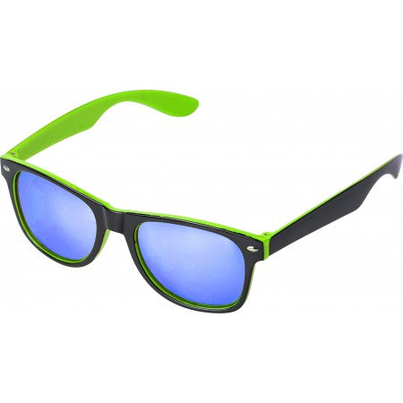Plastic sunglasses with UV400 protection, lime