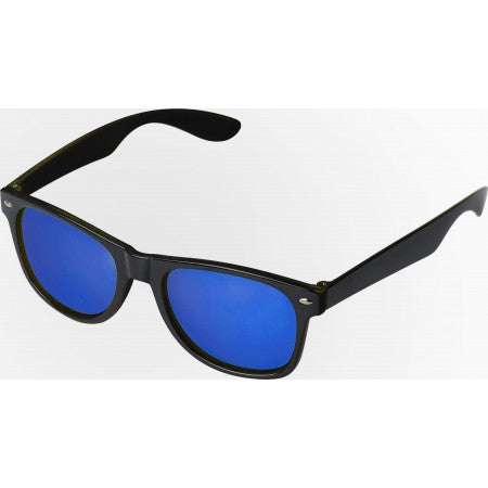 Plastic sunglasses with UV400 protection, cobalt blue