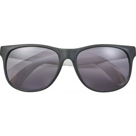 PP sunglasses with coloured legs, white