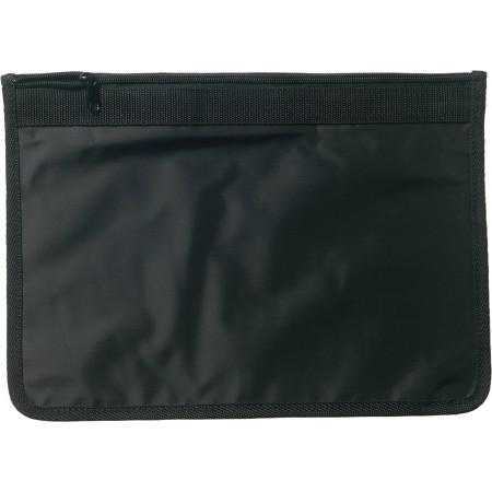 A4 Nylon (70D) document bag, black - BRANIO