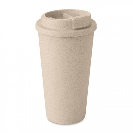 Double wall tumbler Bamboo/PP