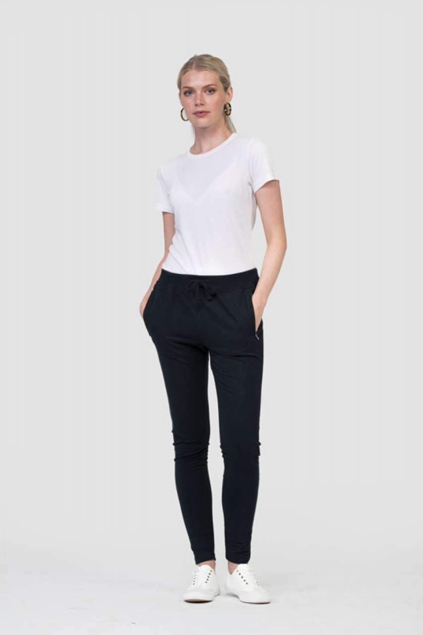 GIRLIE TAPERED TRACK PANTS - BRANIO