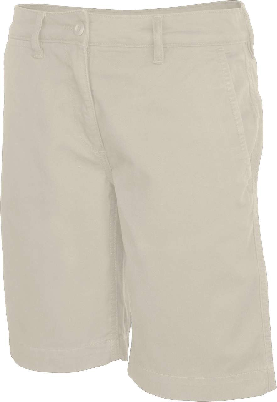 LADIES' CHINO BERMUDA SHORTS