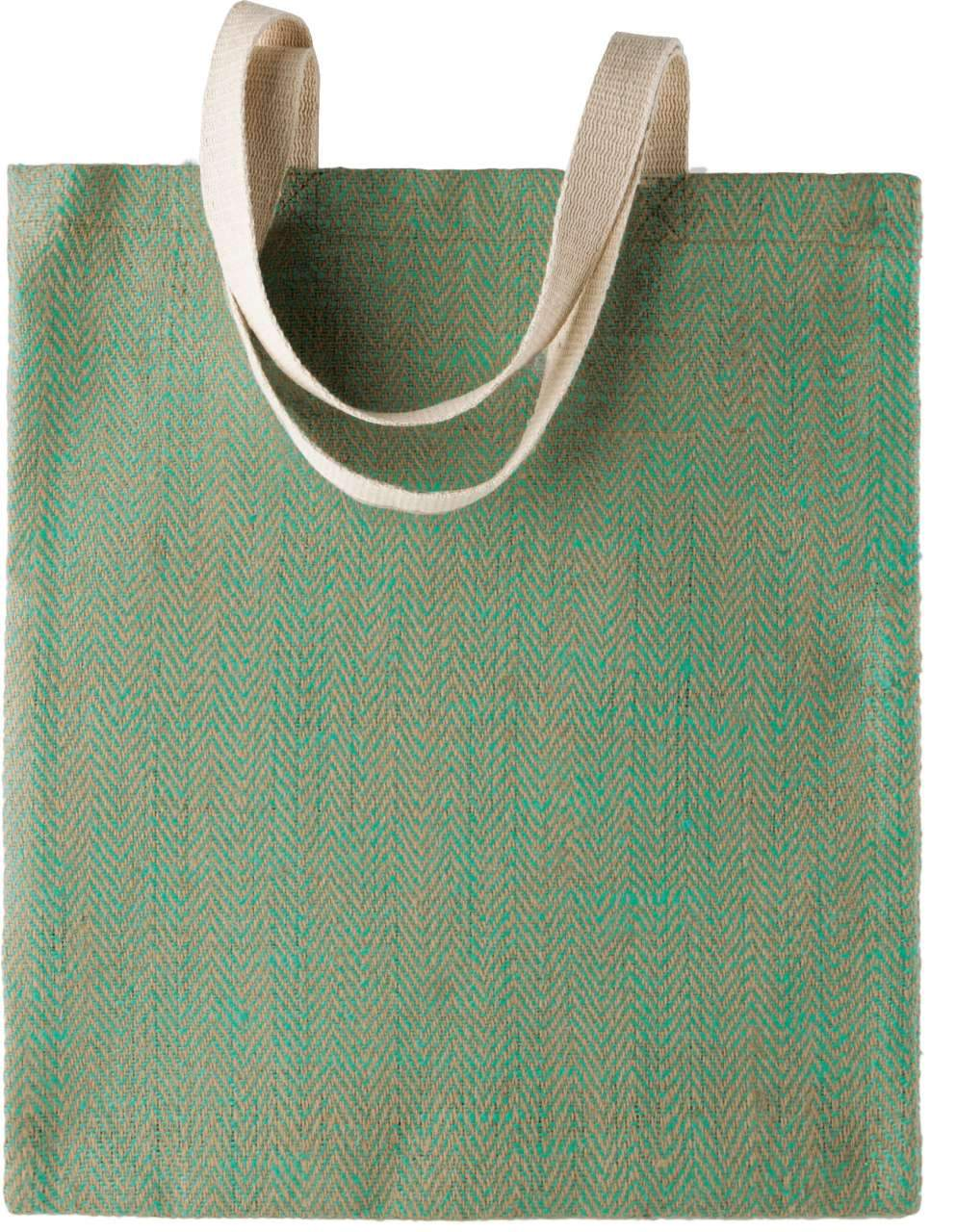 100% NATURAL YARN DYED JUTE BAG - BRANIO