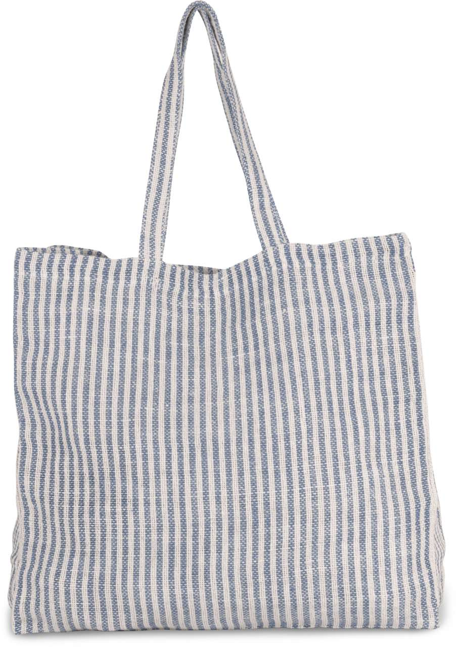 JUCO STRIPED SHOPPER BAG