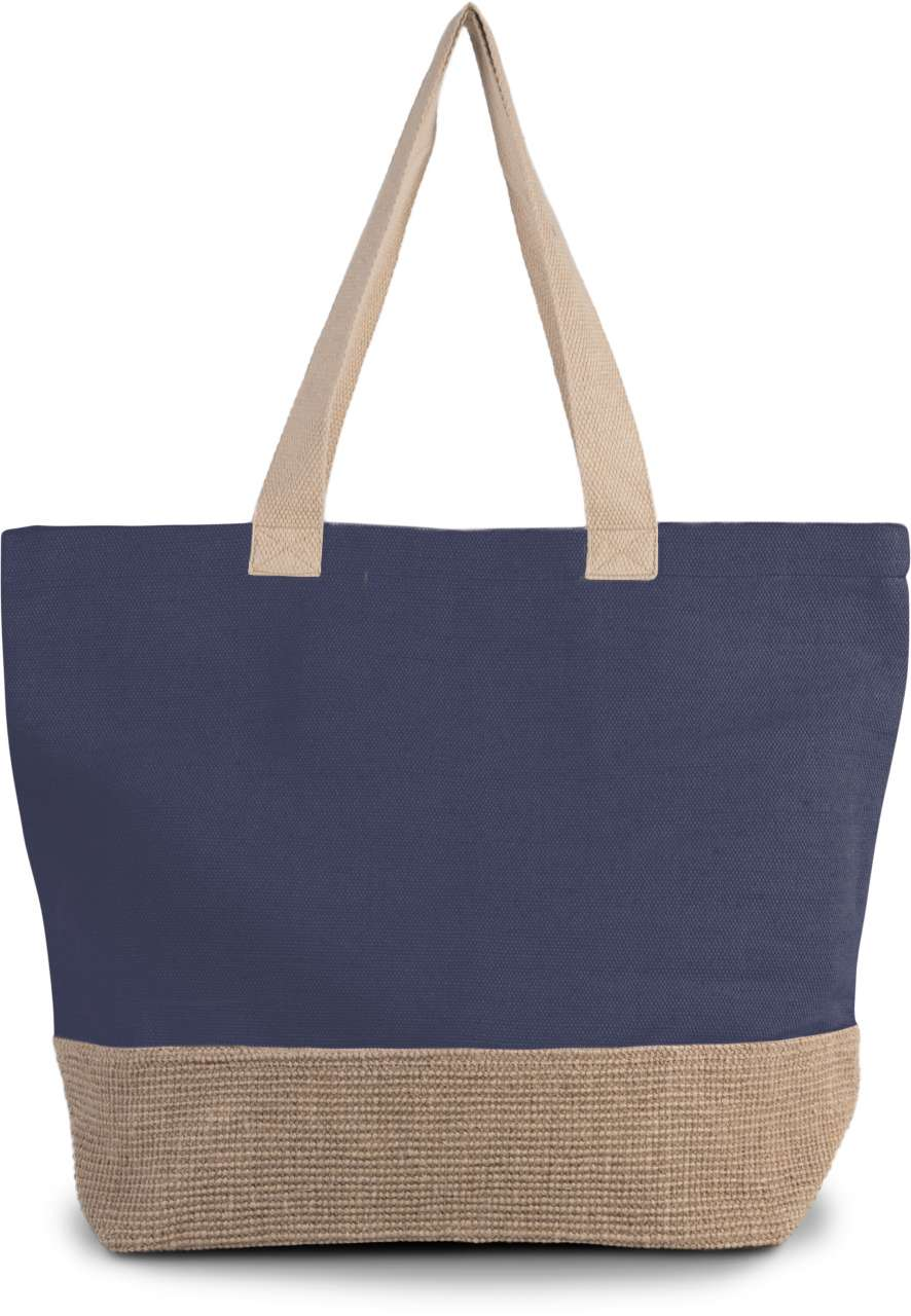 RUSTIC JUCO HOLD-ALL SHOPPER BAG