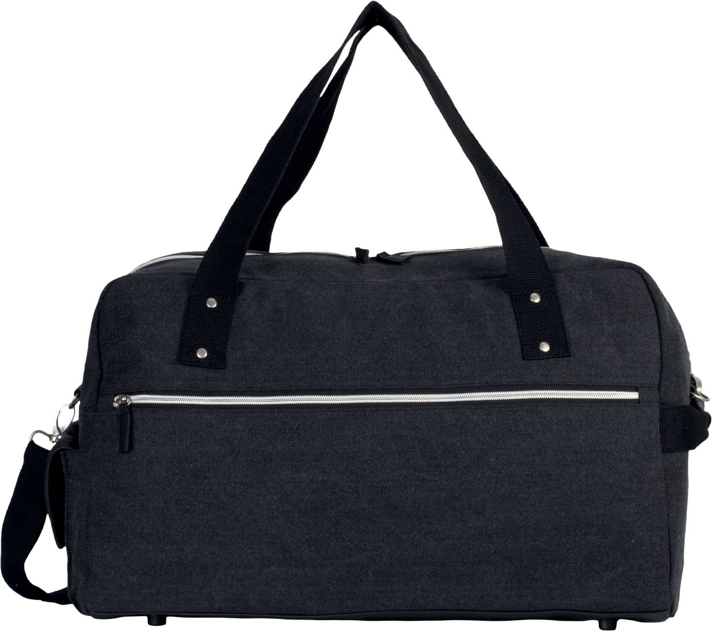 TRAVEL BAG IN COTTON CANVAS