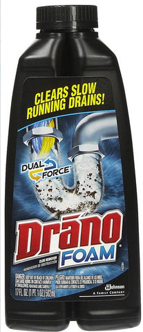 DRANO Dual Force 17OZ - 8Pack
